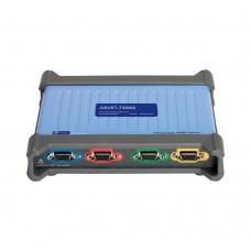 Цифровые запоминающие USB-осциллографы высокого разрешения АКИП-74444