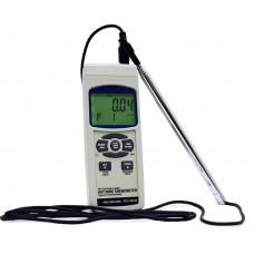 АТЕ-1034BT Анемометр-регистратор АТЕ-1034 с опцией Bluetooth интерфейса