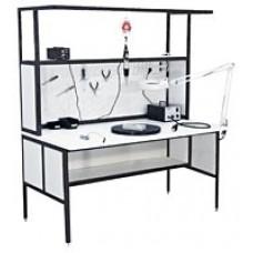 АРМ-4350-ESD Стол слесаря-сборщика радиоаппаратуры с антистатической столешницей