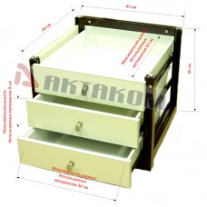 АРМ-7333-С Блок инструментальных ящиков