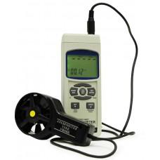 АТЕ-1033BT Анемометр-регистратор АТЕ-1033 с опцией Bluetooth интерфейса