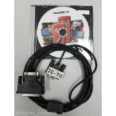 Программное обеспечение и кабель RS-232 IC-70