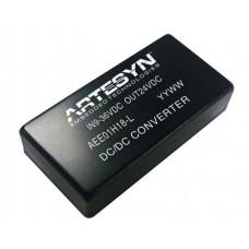 AEE 40W High I/P Single O/P Series Artesyn 40 Watt Isolated DC-DC Converters (High-Input)