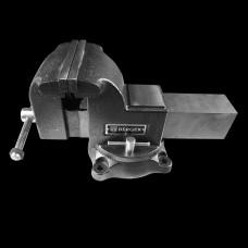 Тиски чугунные поворотные с наковальней «БОР» 200мм Berger BG1339