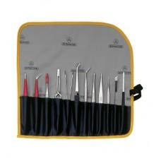 Набор специализированных пинцетов и инструментов Bernstein 5-100 из 12 предметов
