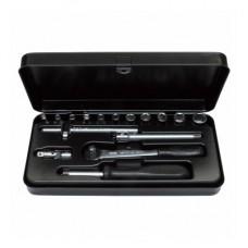 Набор торцевых ключей Bernstein 6-320 из 16 предметов в металлическом кейсе