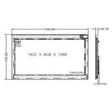 ЖК экран BOE AV101FHT-T10