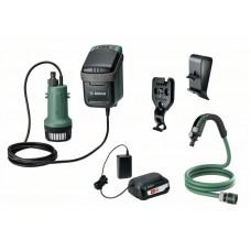 Аккумуляторный насос для дождевой воды Bosch GardenPump 18 (0 600 8C4 200)