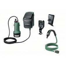Аккумуляторный насосы для дождевой воды Bosch GardenPump 18 (0 600 8C4 201)