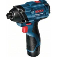 Аккумуляторный ударный шуруповерт/гайковерт Bosch GDR 120-LI