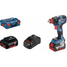 Аккумуляторный ударный шуруповерт/гайковерт Bosch GDX 18V-200 C (0 601 9G4 201)