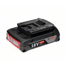 В упаковке 12 шт Bosch . – аккумулятор Compact 18 В/2,0 А•ч