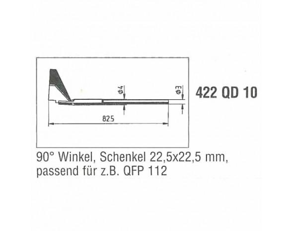 0422QD10. Auslötspitzen-Satz QD10, für Entlöt-Pincette 40/TC 40 und Chip tool Ersa