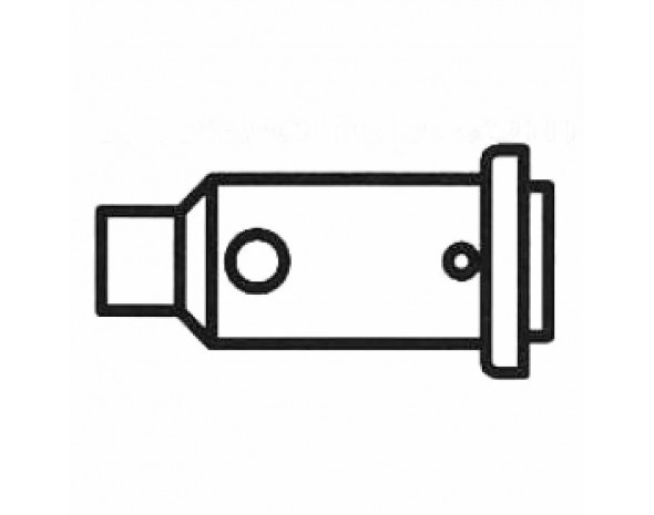 0G352HE. Heißgasdüse für Independent 125, VPE 1 Stück Ersa