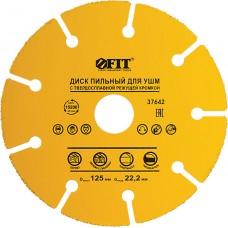 Диск пильный для ушм FIT 37641-37645