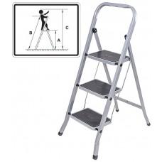 Лестница-стремянка с широкими ступенями FIT 65381-65384