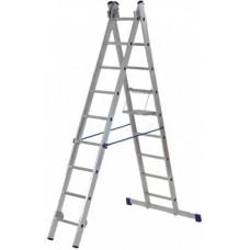 Лестница двухсекционная FIT 65424