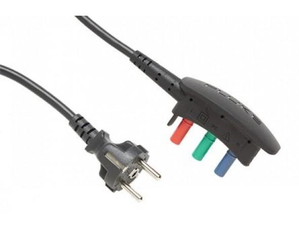 Сетевой тестовый шнур EU Schuko Fluke 166X-MTC-SCH