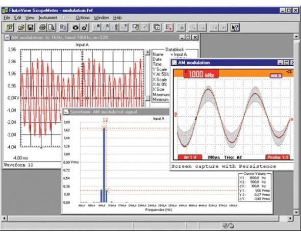 Программное обеспечение для документирования Fluke View Software