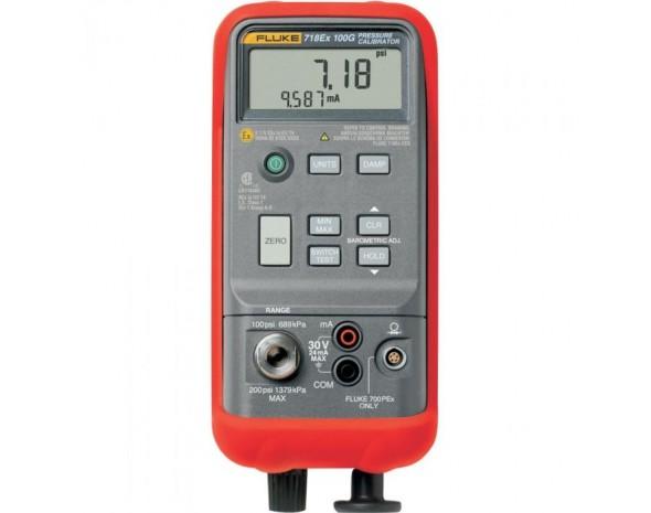 Мощный автономный калибратор давления, предназначенный для применения во взрывоопасных зонах. Fluke 718Ex 300G