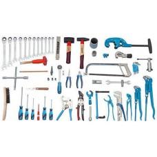 Набор инструментов для сантехника, 62 предмета