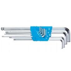 Набор ключей шестигранных 2-10 мм