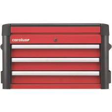 Ящик для инструментов WINGMAN с 3 выдвигающимися отделениями, красный