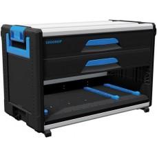 Модуль инструментального ящика WorkMo W3, 2 ящика H6, с отделением для L-BOXX + S-BOXX