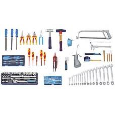 Набор инструментов для механических и электрических работ 120 предметов