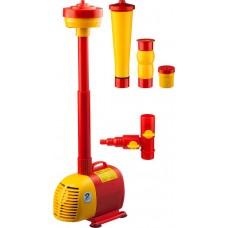 Насос GRINDA фонтанный д/чистой воды, 3 насадки, пропускная способность 3000 л/ч, высота подачи воды 3,4 м, 85 Вт