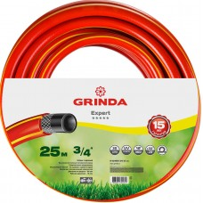 """GRINDA PROLine EXPERT 3/4"""", 25 м, 30 атм трёхслойный поливочный шланг, армированный"""