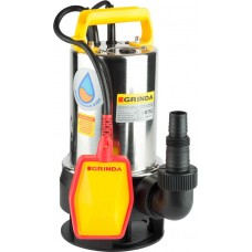 GRINDA 550 Вт, 165 л/мин, насос погружной для грязной воды GSPP-165-6