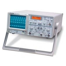 Осциллограф 2-канальный 30 МГц со встроенным частотомером GOS-7630FC