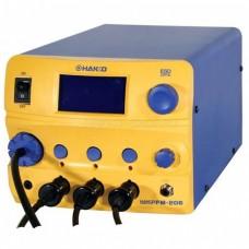 Hakko FM-206. 3 Channels Soldering, Desoldering and Rework Station 410W