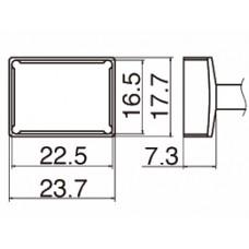 Наконечник Hakko T12-1206 Quad