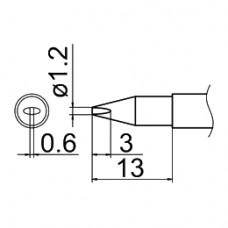 Наконечник Hakko T12-DL12