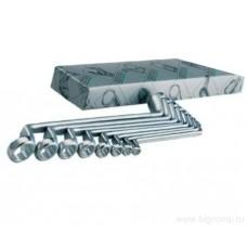Набор двусторонних накидных ключей 12 шт. HEYCO HE-00475967082