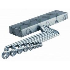 Набор двусторонних накидных ключей 6 шт. HEYCO HE-00475962182