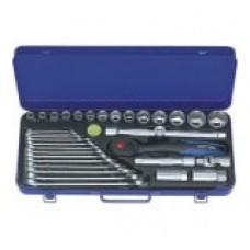 Набор торцевых головок и комбинированных гаечных ключей HEYCO HE-50860301580