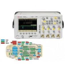 N5424A Запуск по сигналам и декодирование данных шин CAN, LIN для осциллографов InfiniiVision 6000 и 7000B