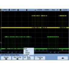 N5457A Запуск и декодирование протокола последовательных шин RS-232/UART для осциллографов InfiniiVision