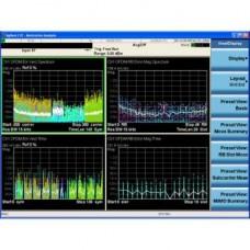 Измерительное приложение для DVB-T/H с T2 для CXA W6153A