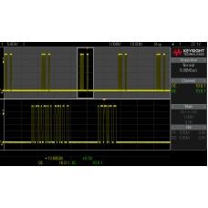 EDUX1EMBD Запуск и декодирование данных шин I2C/RS-232, для серии осциллографов EDUX1000