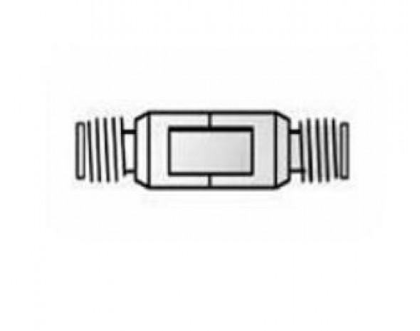 11900B Адаптер, 2,4 мм (розетка) - 2,4 мм (розетка), от 0 (DC) до 50 ГГц