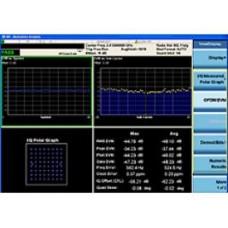 W9077A Измерительное приложение для WLAN 802.11a/b/g/n для CXA
