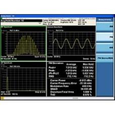 W9063A Измерительное приложение для анализа аналоговой модуляции для CXA