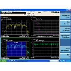 W6155A Измерительное приложение для ISDB-T/Tmm для CXA