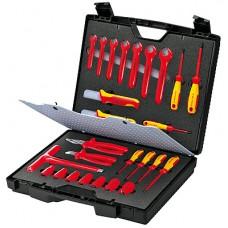 Набор инструментов 1000 V в чемодане KNIPEX KN-989912