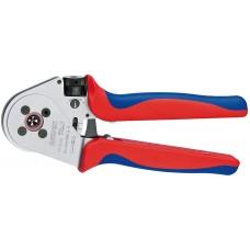 Инструмент для тетрагональной опрессовки точеных контактов хромированная 250 mm