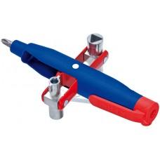 Ключ для электрошкафов с битой и переходником KNIPEX KN-001107